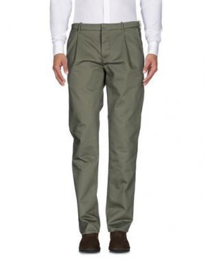 Повседневные брюки RE.BELL. Цвет: зеленый-милитари