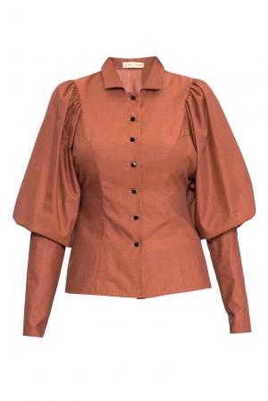 Блуза 155686 Charisma. Цвет: коричневый