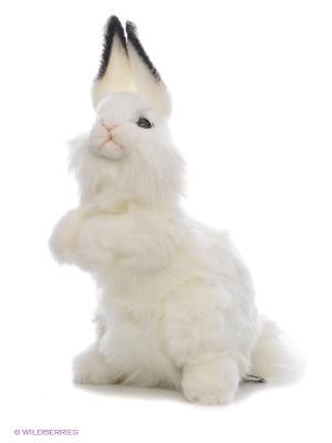 Заяц Кролик белый 32 см Hansa. Цвет: белый