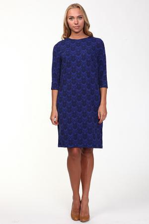 Платье Веста. Цвет: синий