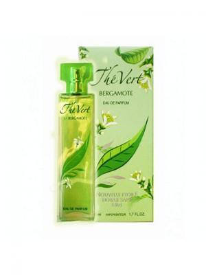 Парфюмерная Вода Ж Зеленый чай бергамот 50 мл Новая Заря. Цвет: зеленый