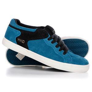 Кеды кроссовки низкие  Templar Slate/Black/Grey VOX. Цвет: голубой