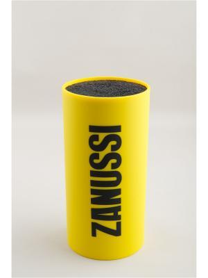 Подставка для ножей Parma Zanussi. Цвет: желтый