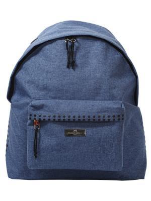 Школьные рюкзаки Grip, в целофане, 1 шт., синий Faber-Castell. Цвет: синий