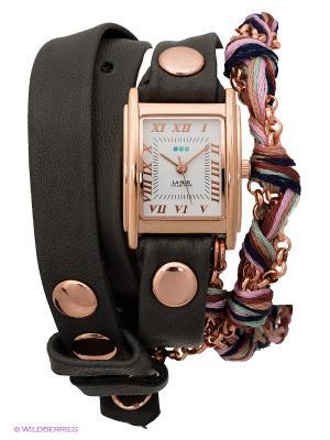 Часы La Mer Collections. Цвет: темно-серый