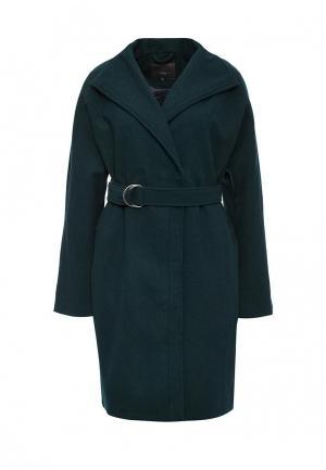 Пальто Ichi. Цвет: зеленый