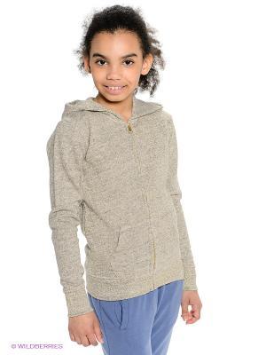 Толстовка American Outfitters. Цвет: серый, золотистый