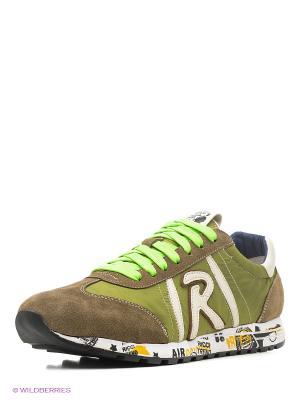 Кроссовки Dino Ricci. Цвет: зеленый