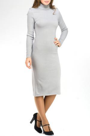 Платье вязаное Rocawear. Цвет: серый