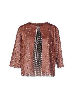 Пиджак MARIUCCIA. Цвет: коричневый