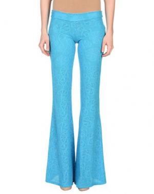 Повседневные брюки FISICO. Цвет: бирюзовый