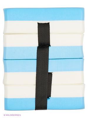 Пояс секционный для обучения плаванию AquaFitness YP-10 Larsen. Цвет: голубой, белый, черный