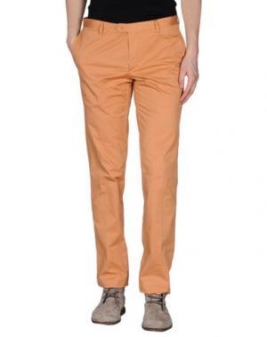 Повседневные брюки GENTRYPORTOFINO. Цвет: охра