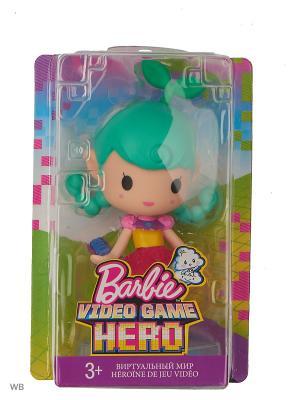Маленькие куклы из серии Barbie и виртуальный мир. Цвет: зеленый, розовый