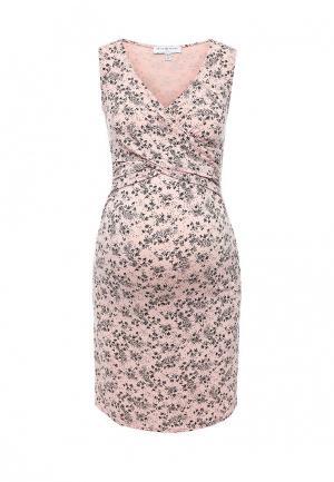 Платье домашнее Envie de Fraise. Цвет: розовый