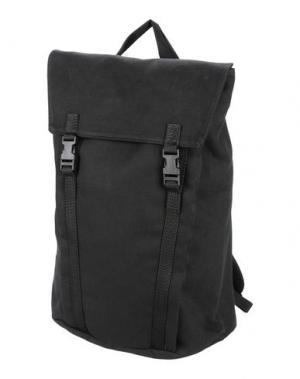 Рюкзаки и сумки на пояс MH WAY. Цвет: черный