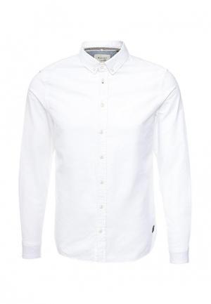 Рубашка Blend. Цвет: белый