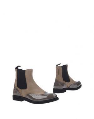 Полусапоги и высокие ботинки WEXFORD. Цвет: песочный