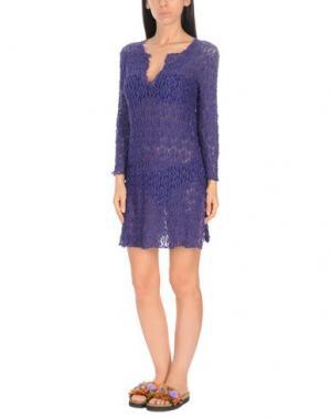 Пляжное платье FLAVIA PADOVAN. Цвет: фиолетовый
