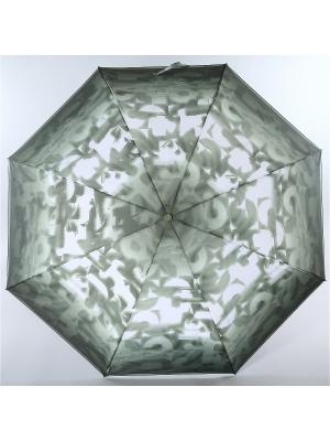 Зонт Trust. Цвет: темно-серый, белый, серо-зеленый