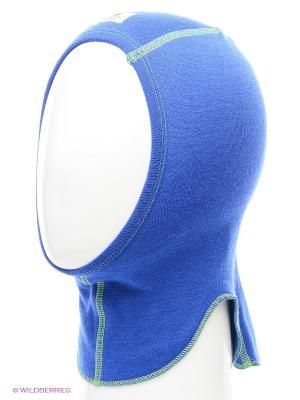 Шапка-шлем Janus. Цвет: синий, темно-синий