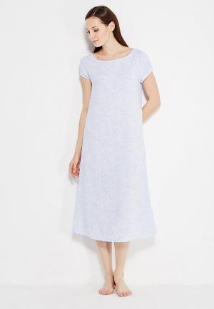 Сорочка ночная womensecret women'secret. Цвет: голубой