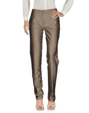 Повседневные брюки MAURIZIO PECORARO. Цвет: хаки