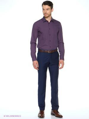 Рубашка Alfred Muller. Цвет: бордовый