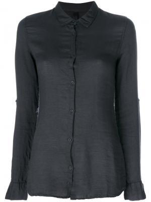 Рубашка на пуговицах Poème Bohémien. Цвет: чёрный