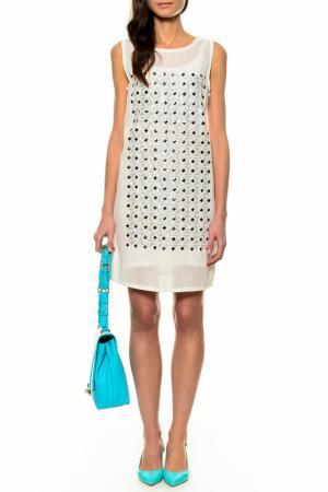 Платье Cantarelli. Цвет: белый