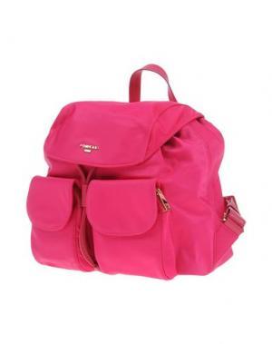 Рюкзаки и сумки на пояс POMIKAKI. Цвет: фуксия