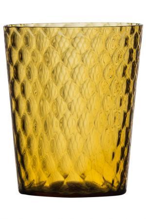 Бокал для сока и воды Zafferano. Цвет: желтый