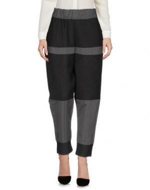 Повседневные брюки MNML COUTURE. Цвет: свинцово-серый