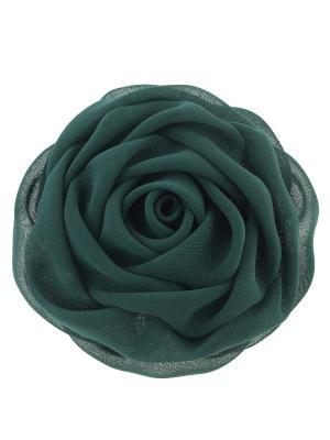 Зажим для волос Bijoux Land. Цвет: зеленый