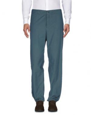 Повседневные брюки YMC YOU MUST CREATE. Цвет: цвет морской волны