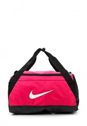 Сумка спортивная Nike. Цвет: розовый