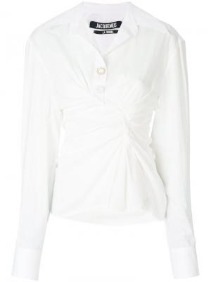 Рубашка Maceio Jacquemus. Цвет: белый
