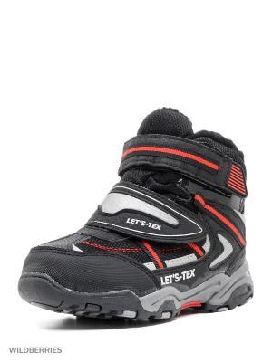 Ботинки BRIS. Цвет: черный