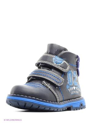 Ботинки на байке KENKA. Цвет: синий