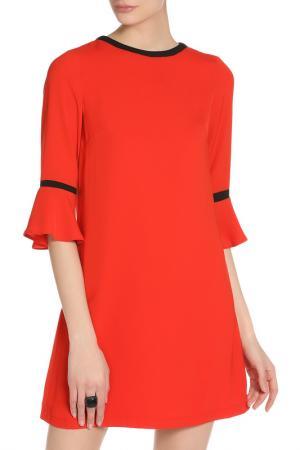 Платье PAPER DOLLS. Цвет: красный