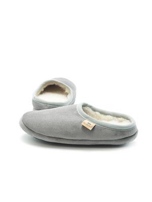 Тапочки ALWERO. Цвет: серый