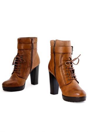 Ботинки Villa Reale. Цвет: коричневый