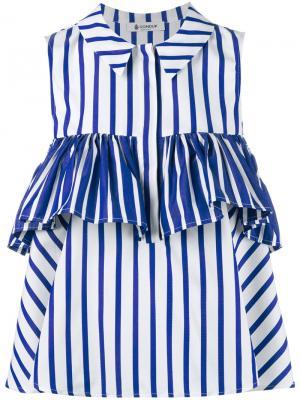 Блузка Diphda Dondup. Цвет: синий