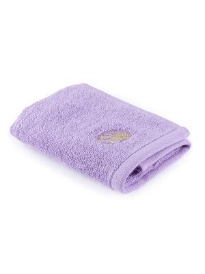 Полотенце для ванной 30х50 см Fairytale Moroshka. Цвет: фиолетовый