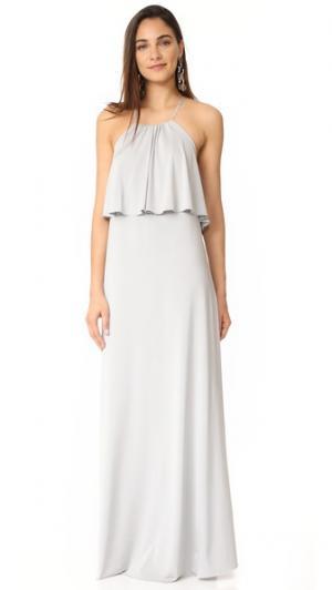 Платье Zoe Twobirds. Цвет: голубой