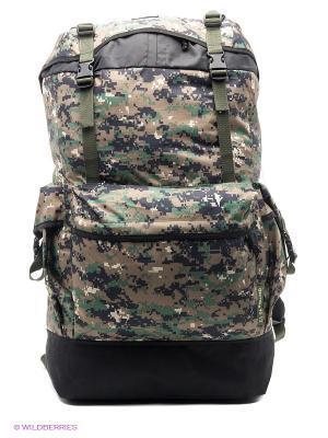 Рюкзак для охоты Охотник 70 V3 км Nova tour. Цвет: зеленый, светло-бежевый, белый, черный