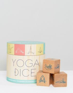 Books Набор игральных кубиков для йоги. Цвет: мульти