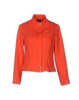 Куртка PAUSE CAFÉ. Цвет: коралловый