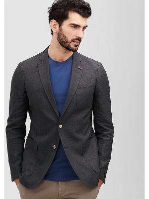 Пиджак S.OLIVER. Цвет: темно-серый