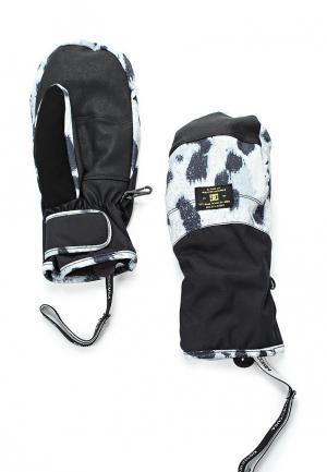 Варежки горнолыжные DC Shoes. Цвет: черный